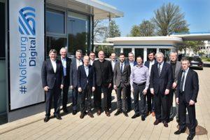 Steuerkreis WolfsburgDigital mit Referenten