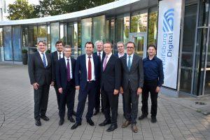 Mitglieder des Steuerkreis' #WolfsburgDigital